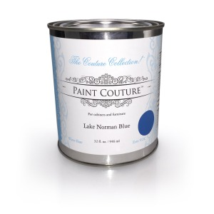 Lake Norman Blue Paint Couture